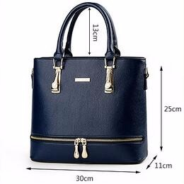 Elegant Women Lady Leather Handbag Purse Shoulder Satchel Messenger Bags Tote